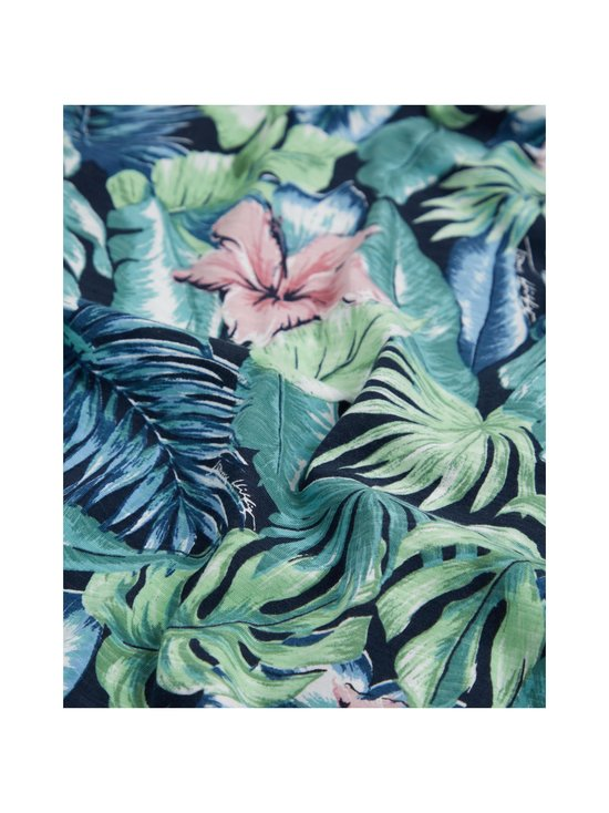 Tommy Hilfiger - All Over Flower Print Tee -paita - 0H7 GREEN BAY/MULTI   Stockmann - photo 3