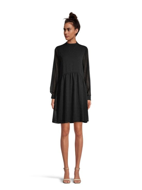 Vila - ViDarcey L/S Dress -mekko - BLACK | Stockmann - photo 2