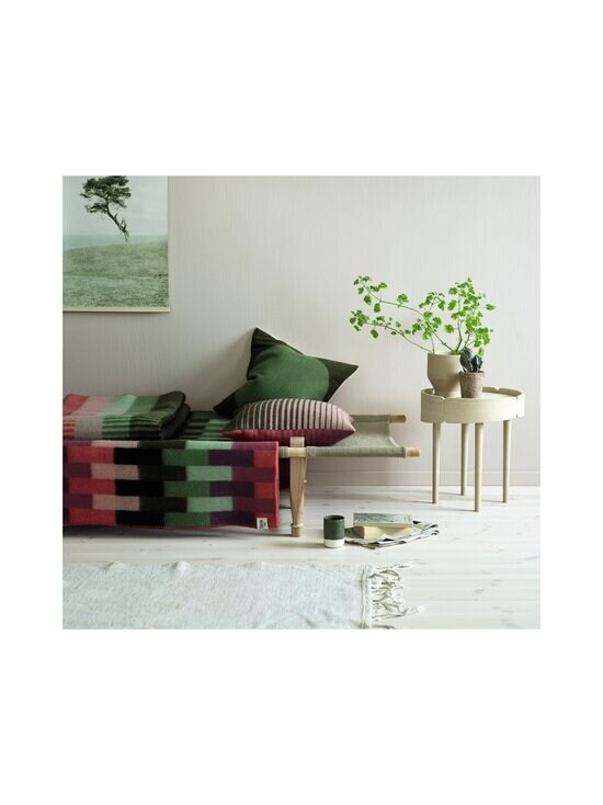 Røros Tweed - Åsmund Bold-sisustustyyny 50 x 50 cm - PINK GREEN | Stockmann - photo 3