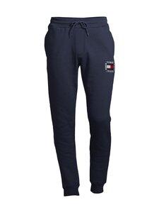 Tommy Jeans - Tjm Slim Box Flag Sweat Pant -collegehousut - C87 TWILIGHT NAVY | Stockmann