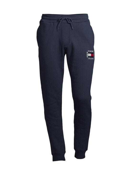 Tommy Jeans - Tjm Slim Box Flag Sweat Pant -collegehousut - C87 TWILIGHT NAVY | Stockmann - photo 1