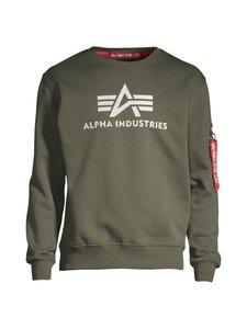 Alpha Industries - 3D Logo Sweater II -collegepaita - 142 DARK OLIVE | Stockmann