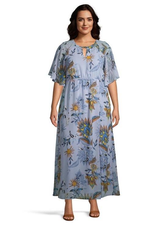 JrShiriamia 2/4-Sleeve Maxi Dress -mekko