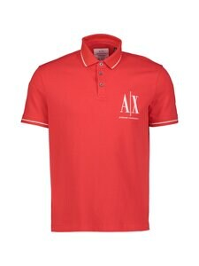 ARMANI EXCHANGE - Pikeepaita - 1400 ABSOLUT RED | Stockmann