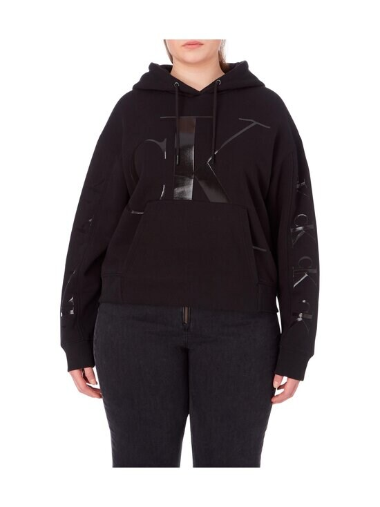 Calvin Klein Jeans Plus - PLUS CK ECO HOODOE -collegehuppari - BEH CK BLACK | Stockmann - photo 3