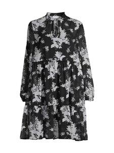 Vila - VITULLAN L/S FLOWER DRESS -mekko - BLACK AOP:FLOWER CLOUD DANCER | Stockmann
