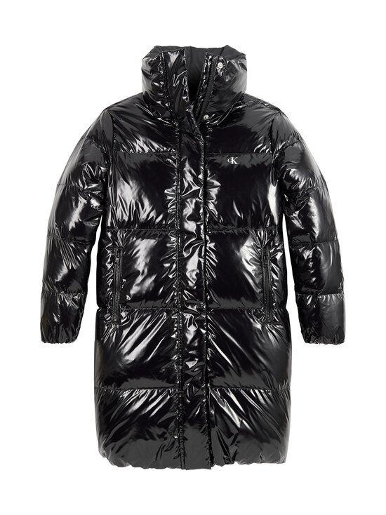 Calvin Klein Kids - Glossy Down Puffer -untuvatakki - BEH CK BLACK | Stockmann - photo 1
