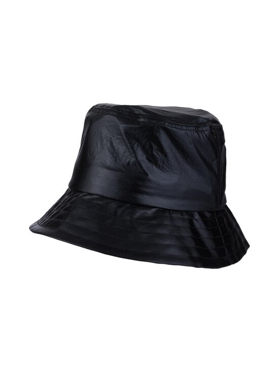 Karl Lagerfeld - K/Ikonik Metallic Bucket Hat -hattu - 980 MTLLC BLK | Stockmann - photo 1