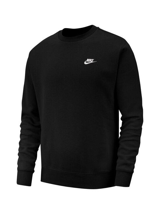 Nike - Club-fleecepaita - BLACK/WHITE 010 | Stockmann - photo 1