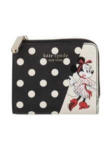 kate spade new york - Disney x kate spade new york Minnie Mouse Small Bifold Wallet -lompakko - BLACK MULTI | Stockmann