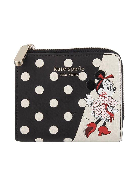 kate spade new york - Disney x kate spade new york Minnie Mouse Small Bifold Wallet -lompakko - BLACK MULTI | Stockmann - photo 1
