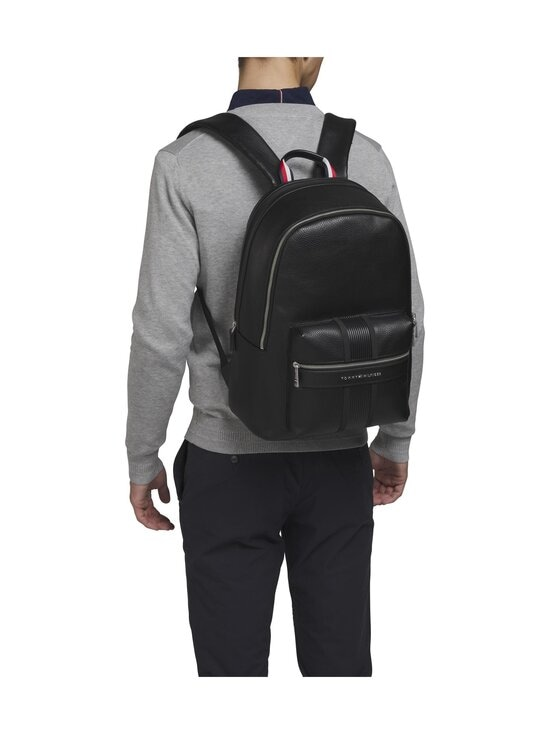 Tommy Hilfiger - TH Downtown Backpack -reppu - BDS BLACK | Stockmann - photo 4