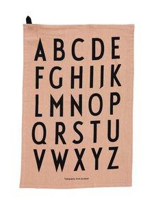 Design Letters - Classic Tea Towel -pyyhe - BLACK | Stockmann