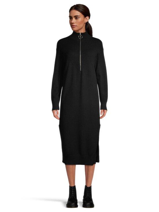 NA-KD - Side Slit Knit Dress -neulemekko - BLACK | Stockmann - photo 2