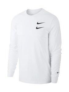 Nike - Swoosh LS Tee -paita - 100 WHITE | Stockmann