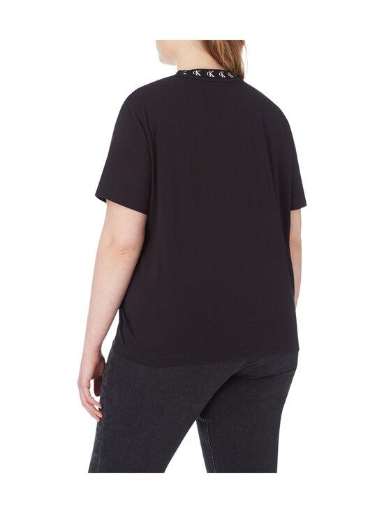 Calvin Klein Jeans Plus - CK Logo Trim SS Tee -paita - BEH CK BLACK | Stockmann - photo 3