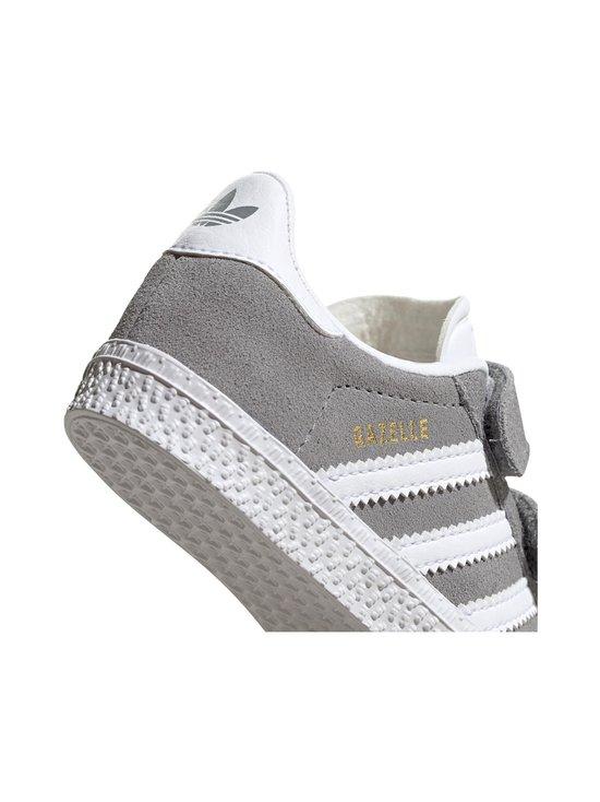 adidas Originals - Gazelle CF I -mokkanahkatennarit - GRETHR/FTWWHT/GOLDMT | Stockmann - photo 8