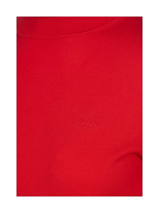GANT - Puuvillapooloneule - 620 BRIGHT RED | Stockmann - photo 2