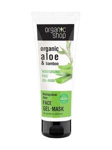 Organic Shop - Madagaskan Aloe Moisturizing -geelikasvonaamio 75 ml - null | Stockmann