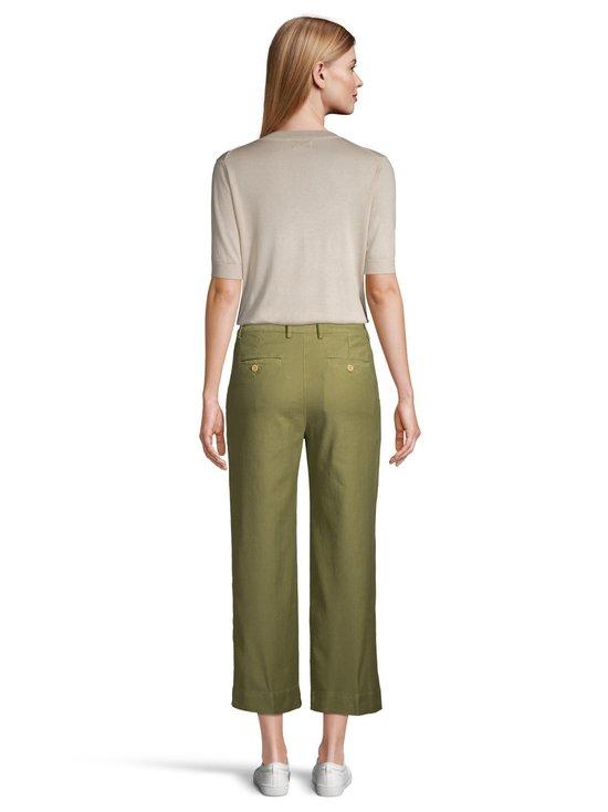 GANT - High Waist Summer Linen -housut - 365 OLIVE GREEN | Stockmann - photo 3