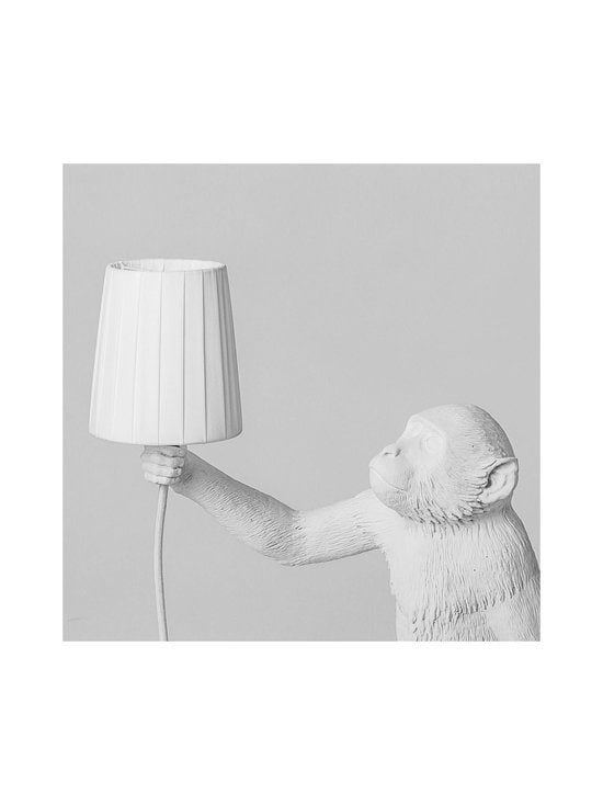 Seletti - Varjostin Monkey Lamp -valaisimeen - VALKOINEN | Stockmann - photo 2