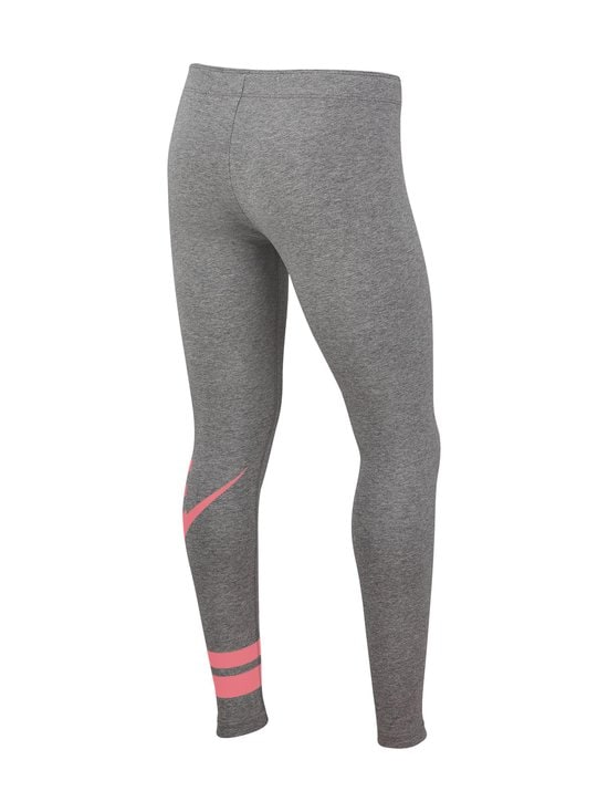Nike - Sportswear Older Kids' Graphic Leggings -leggingsit - CARBON HEATHER/PINK GAZE | Stockmann - photo 2