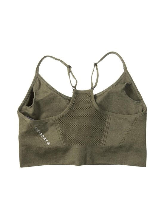 Superdry Sport - Training Seamless Contour Sports Bra -urheiluliivit - ZC3 ARMY KHAKI | Stockmann - photo 2