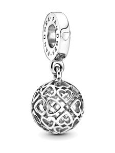 Pandora - Hearts Silver Dangle -koru - SILVER | Stockmann