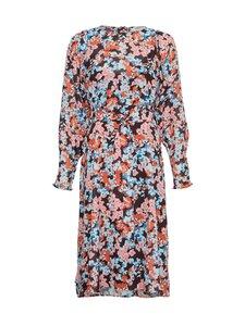 Moss Copenhagen - Ammalie LS Dress AOP -mekko - BLACK FLOWER BLACK FLOWER | Stockmann