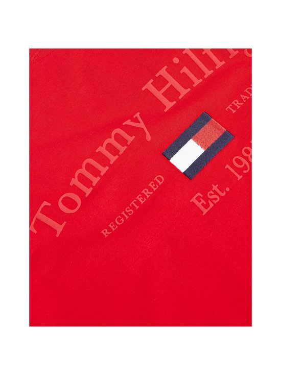 Tommy Hilfiger - Archive Graphic -paita - XLG PRIMARY RED | Stockmann - photo 3