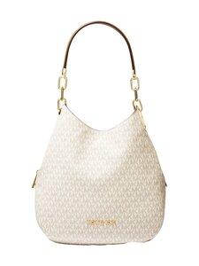 Michael Michael Kors - Lillie Large Logo Shoulder Bag -laukku - 149 VANILLA/ACRN | Stockmann