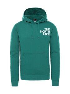 The North Face - M Oversize Logo Hoodie -huppari - TA01 EVERGREEN/TNF WHITE | Stockmann
