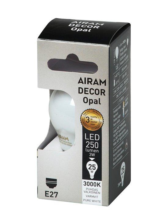 Airam - LED Decor Compact Opal E27 -lamppu - VALKOINEN | Stockmann - photo 1