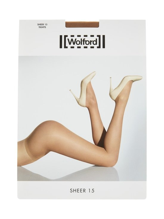 Wolford - Sheer 15 den -sukkahousut - GOBI | Stockmann - photo 1