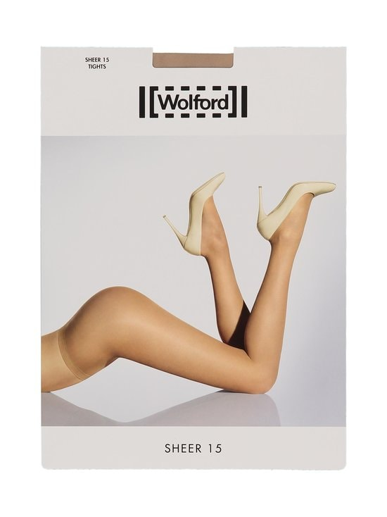 Wolford - Sheer 15 den -sukkahousut - GOBI | Stockmann - photo 2