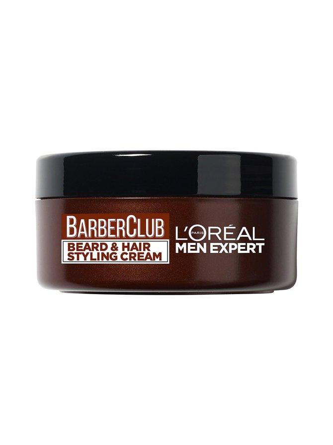 Barber Club Beard & Hair Styling Cream -parran ja hiusten muotoiluvoide 75 ml