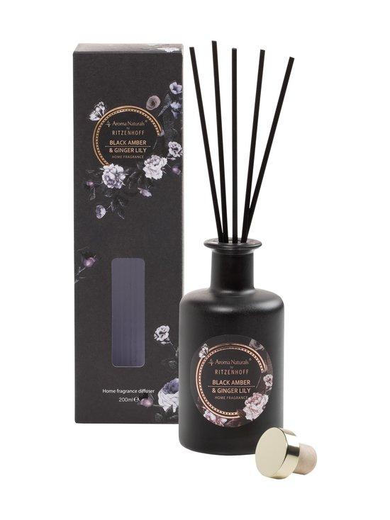 Ritzenhoff - Noir Black Amber & Ginger Lily -huonetuoksu 200 ml - MUSTA | Stockmann - photo 2