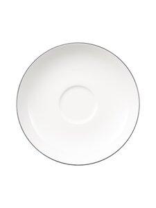 Villeroy & Boch - Anmut Platinum No.1 -aluslautanen kahvikupille 15 cm - WHITE | Stockmann