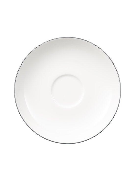 Villeroy & Boch - Anmut Platinum No.1 -aluslautanen kahvikupille 15 cm - WHITE   Stockmann - photo 1