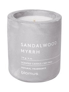 Blomus - Sandalwood Myrrh -tuoksukynttilä - VAALEANHARMAA | Stockmann