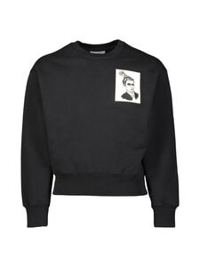 Ami - Anniversary Face Patch Sweatshirt -collegepaita - NOIR/001 | Stockmann