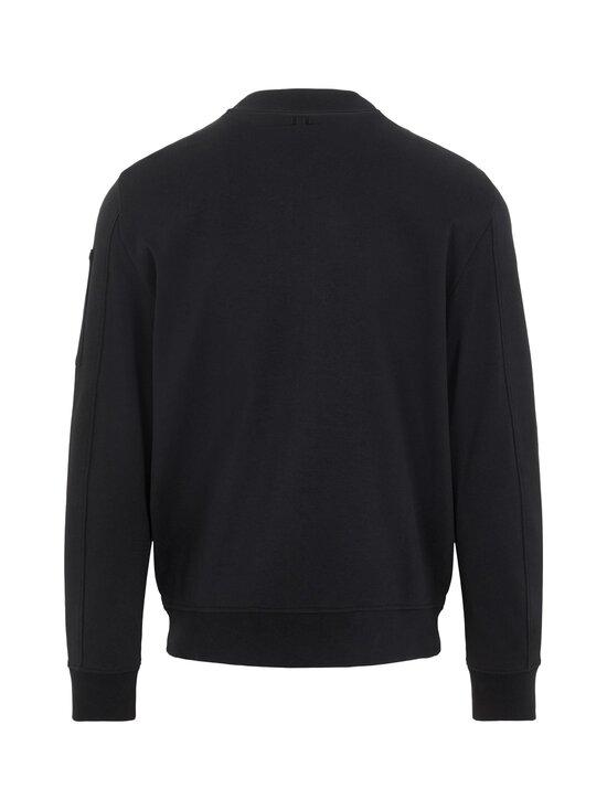 J.Lindeberg - Jersey Seth Bomber Sweat Jacket -collegetakki - 9999 BLACK | Stockmann - photo 2