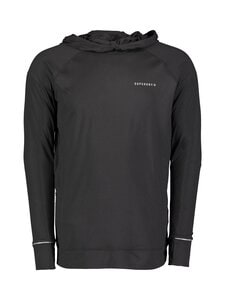 Superdry Sport - Run Hooded Mid Layer -juoksupaita - 02A BLACK | Stockmann