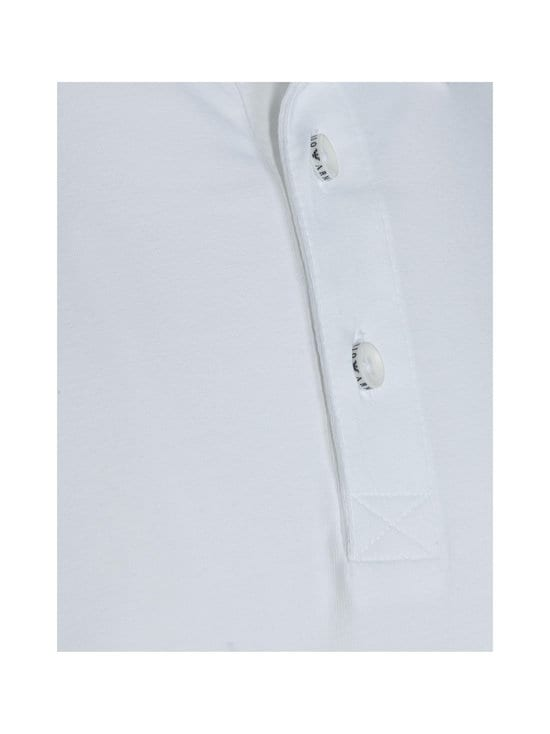 Emporio Armani - Polo Sleeve -pikeepaita - 00010 WHITE | Stockmann - photo 2