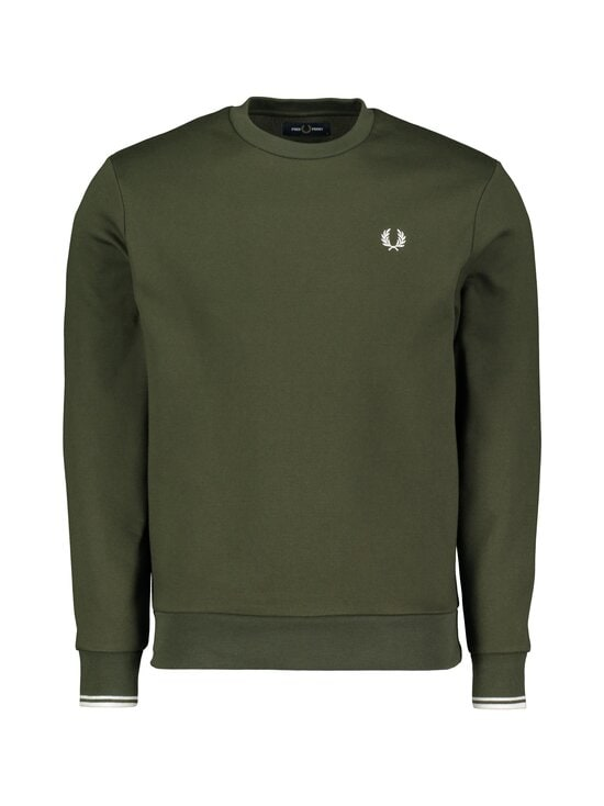 Fred Perry - Arch Branded Sweatshirt -collegepaita - 408 HUNTING GREEN   Stockmann - photo 1