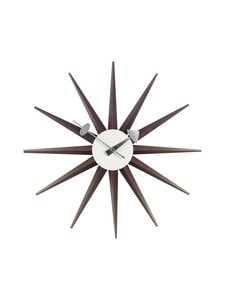 Vitra - Sunburst-seinäkello 47 cm - BROWN | Stockmann