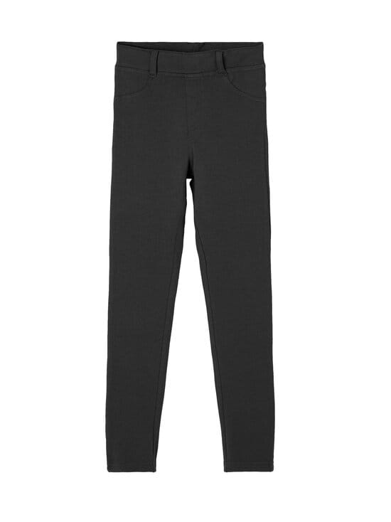 Name It - NKFJAVI Solid SWE Legging UNB B Noos -legginsit - BLACK   Stockmann - photo 1
