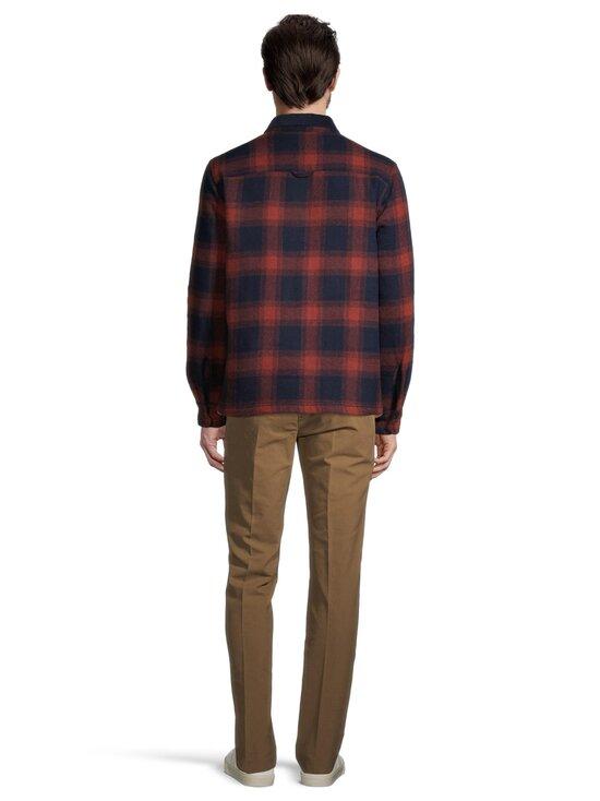 Superdry - Hunting ZipThru Wool Overshirt -takki - 4TI RUST OMBRE CHECK | Stockmann - photo 3