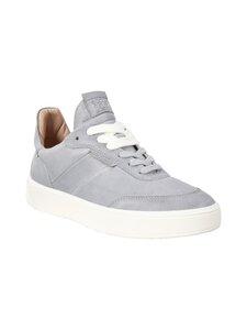 ecco - Street Tray W -nahkasneakerit - 01177 SILVER GREY | Stockmann
