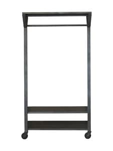 Muubs - Bronx-vaaterekki 100 x 185 x 40 cm - BLACK | Stockmann
